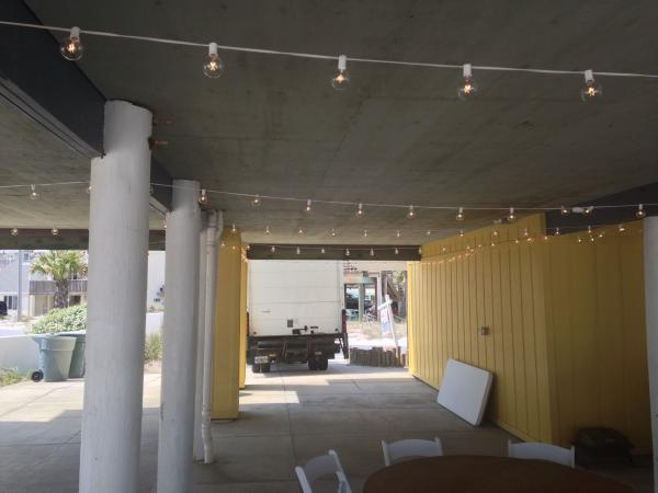 Pipe And Draping Wedding Wall Draping Cafe Lighting